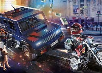 Playmobil - 70464 - Police pursuit