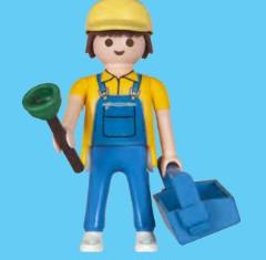 Playmobil - 30792924 - Plumber