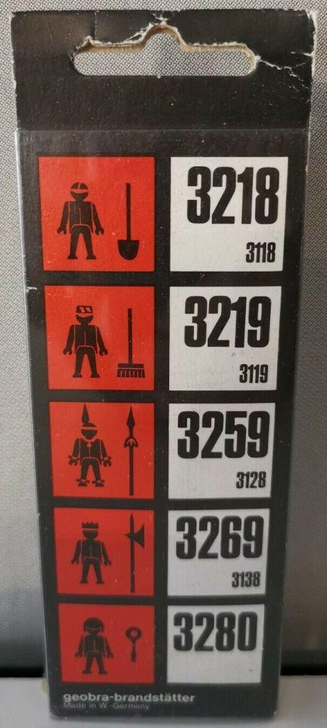 Playmobil 3219s1v5 - Construction worker - Box