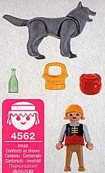 Playmobil 4562 - Red Riding Hood - Back