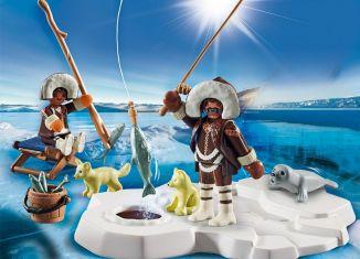 Playmobil - 70606 - Gift set Inuit ice fishing