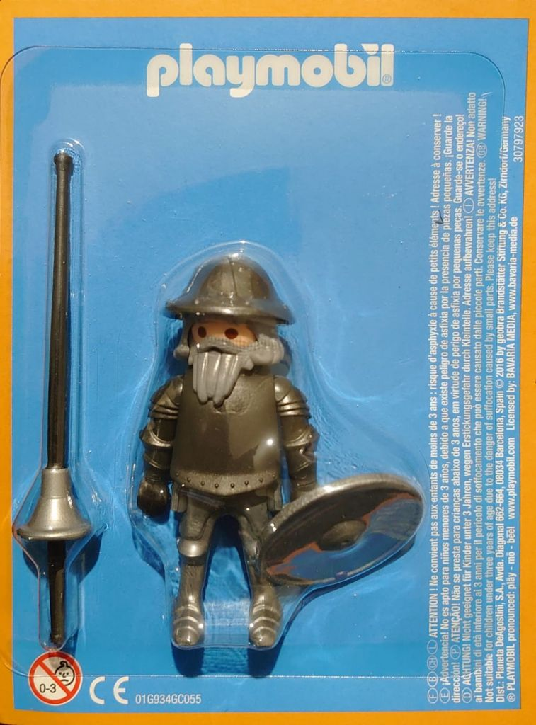 Playmobil LADLH-058 30797923 - Cervantes, the prince of the wits. - Box