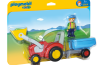 Playmobil - 6964 - Tractor with Trailer