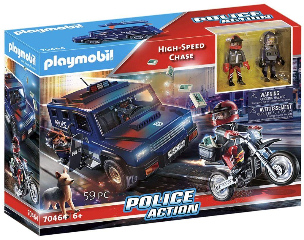 Playmobil 70464 - Police pursuit - Box