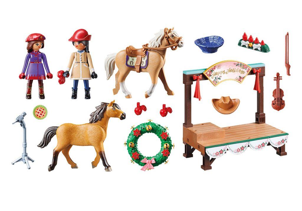 Playmobil 70396 - Christmas Concert - Back