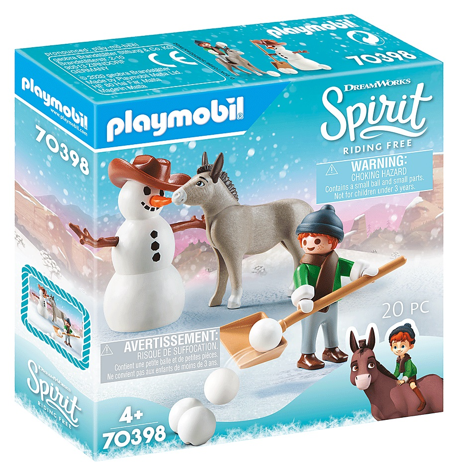 Playmobil 70398 - Snow time with Snips and Señor Carrots - Box