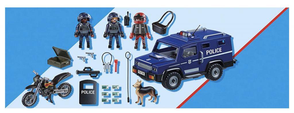 Playmobil 70464 - Police pursuit - Back