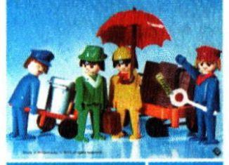 Playmobil - 3271-can - Set Voyageurs