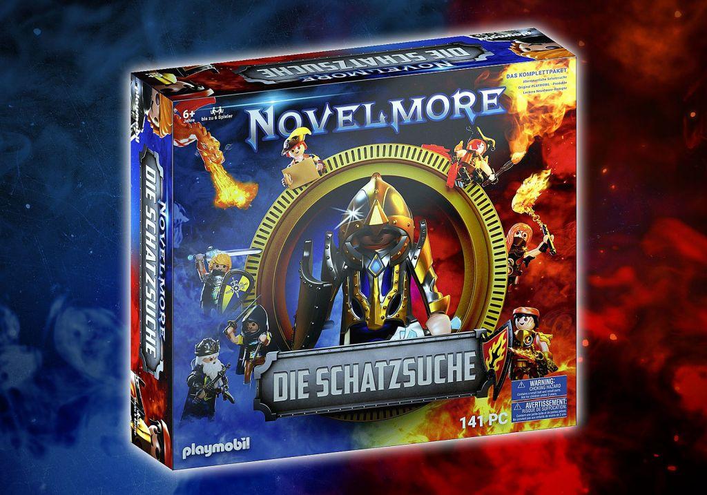 Playmobil 70736 - NOVELMORE Die Schatzsuche - Box
