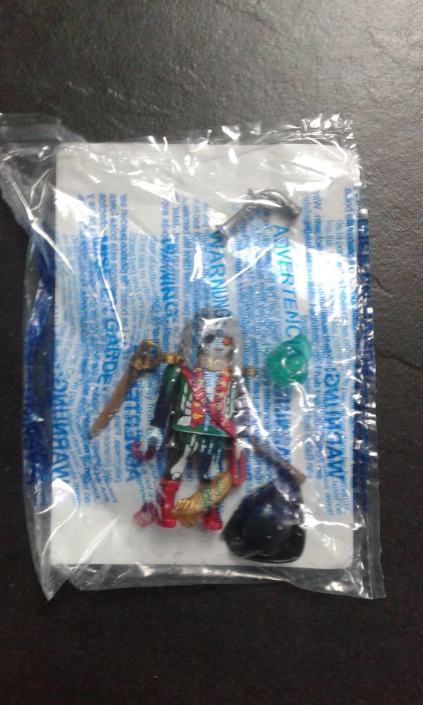 Playmobil 6591 - Ghost Pirate Captain - Back