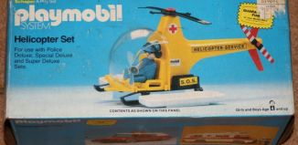 Playmobil - 1909-sch - Helicopter Set