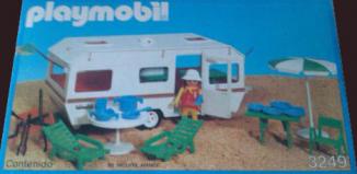 Playmobil - 3249-esp - White caravan
