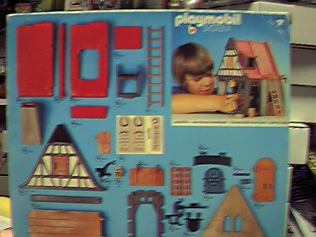 Playmobil 3442 - Blacksmith - Back