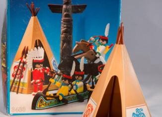 Playmobil - 3483v4 - Indians