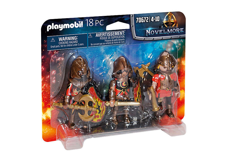 Playmobil 70672 - Burnham Raiders Set - Box