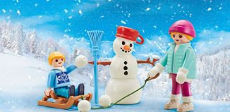 Playmobil - 9864 - 4 Jahreszeiten Winter