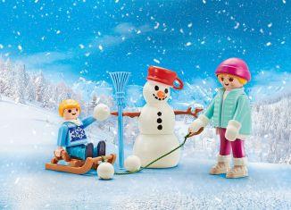 Playmobil - 9864 - 4 seasons-set winter