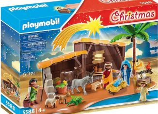 Playmobil - 5588v2 - Nativity scene with stable