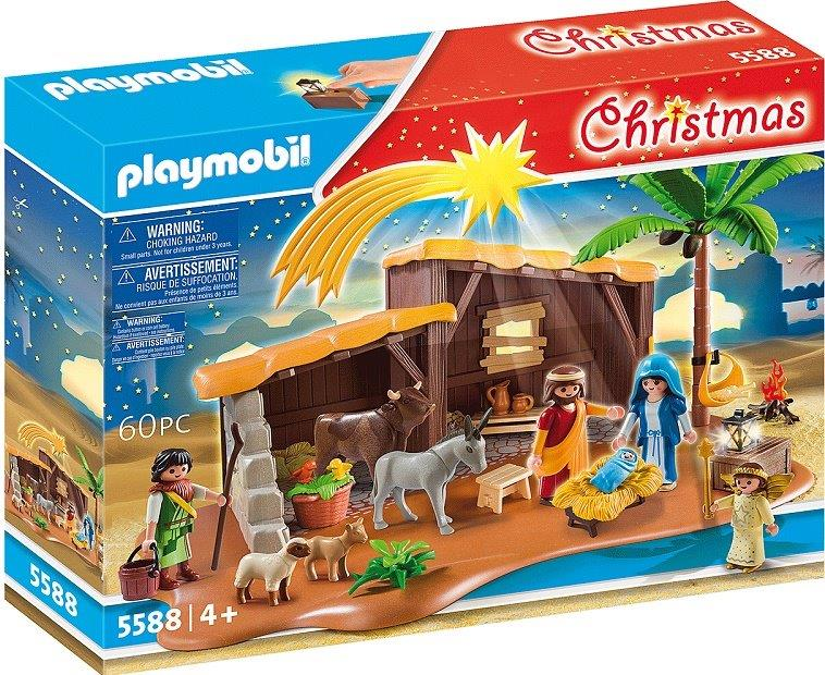 Playmobil 5588v2 - Nativity scene with stable - Box