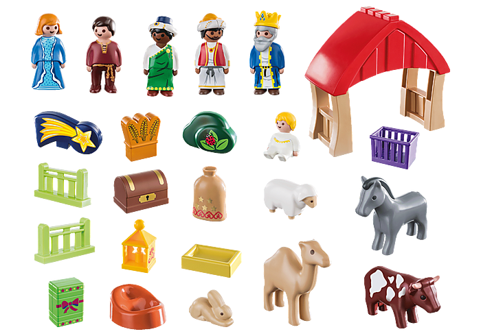 Playmobil 70047 - Nativity and Wise Kings - Back