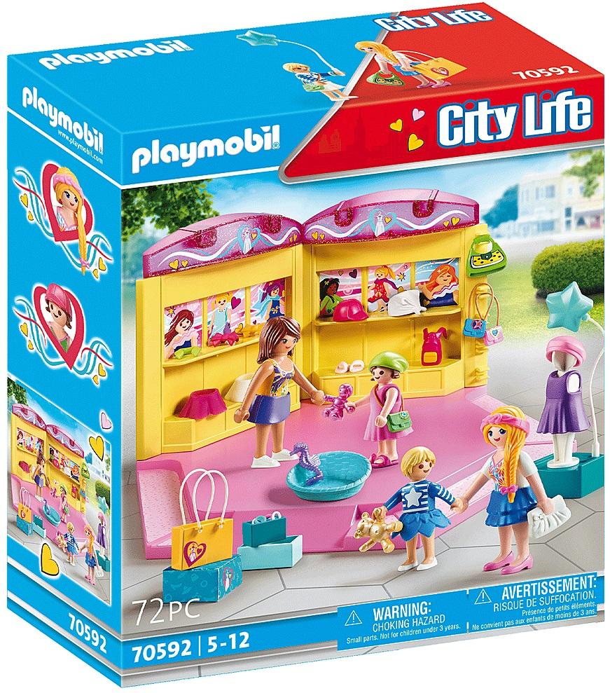 Playmobil 70592 - Fashion shop for children - Box