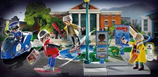 Playmobil - 70634 -  Hoverboard Chase