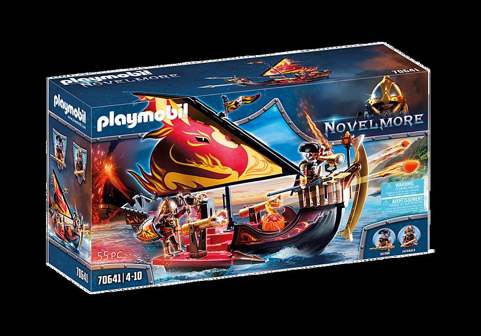 Playmobil 70641 - Burnham Raiders Fire Ship - Box