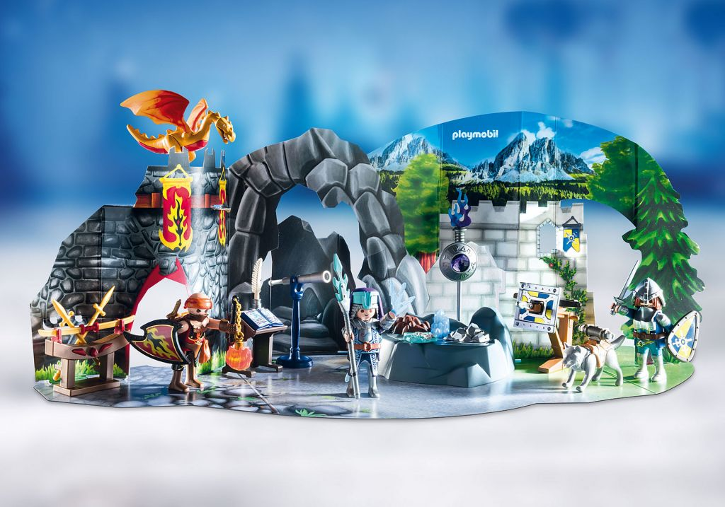 Playmobil 70187 - Advent Calendar - Fight for the magic Stone - Back