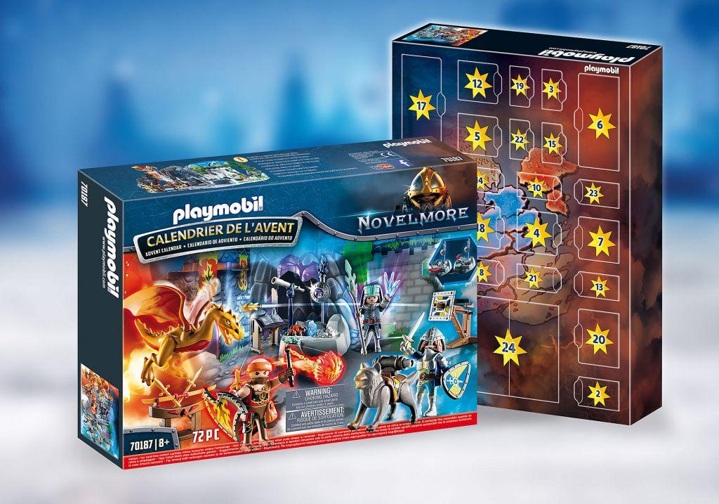 Playmobil 70187 - Advent Calendar - Fight for the magic Stone - Box