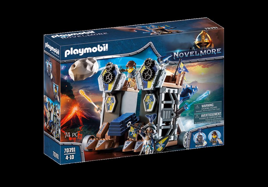 Playmobil 70391 - Novelmore Mobile Fortress - Box
