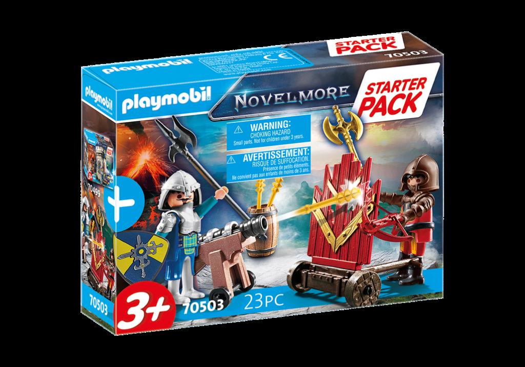 Playmobil 70503 - Starter Pack Novelmore knights - Box