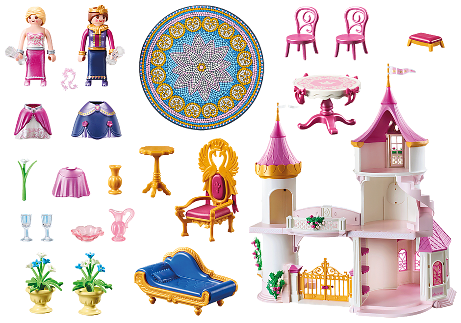 Playmobil 70448-bel-fra - Princess castle - Back