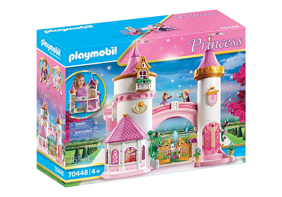 Playmobil 70448-bel-fra - Princess castle - Box
