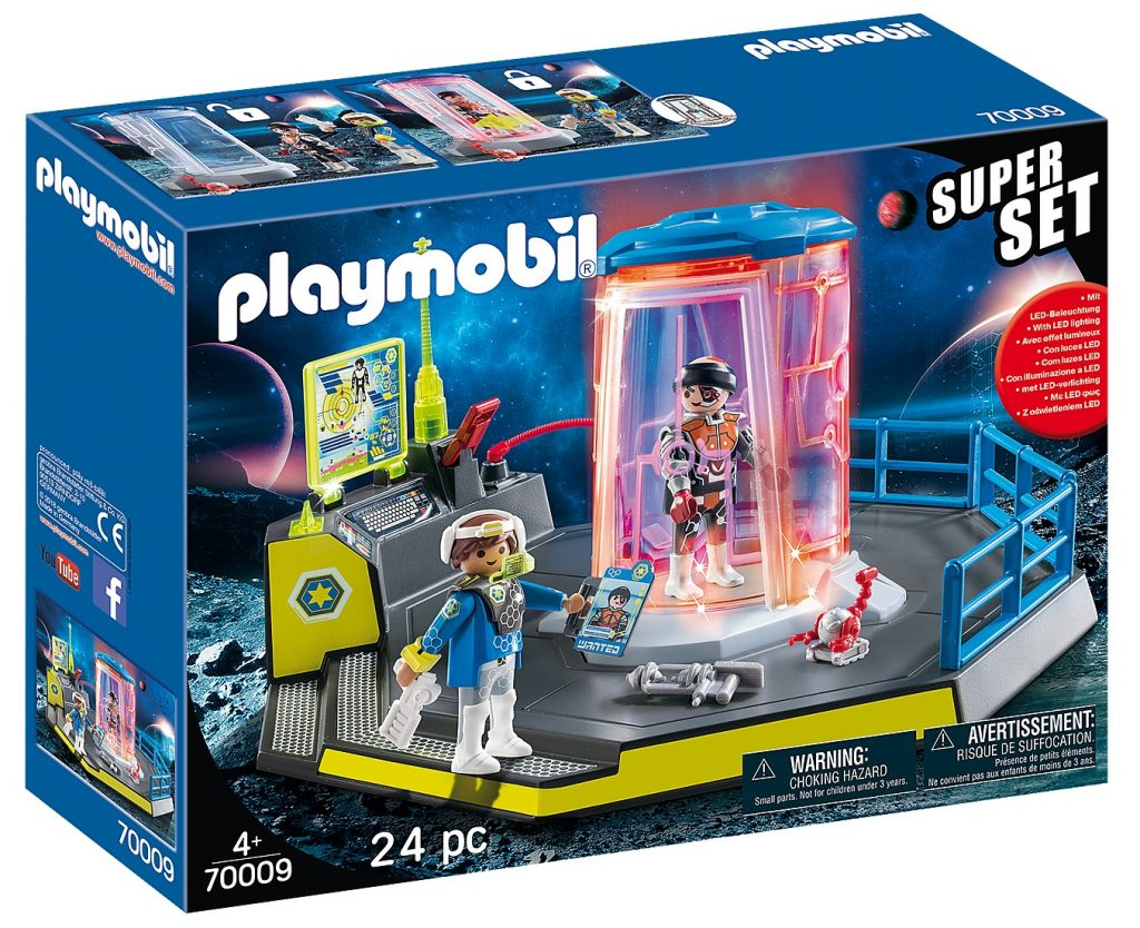 Playmobil 70009 - SuperSet Galaxy Police Prison - Box