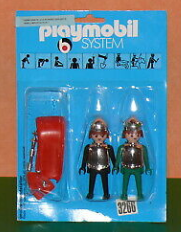 Playmobil - 3266s1v2 - Black & green knights