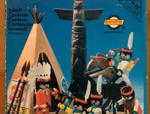 Playmobil - 3483-lyr - Indians