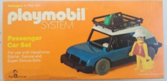 Playmobil - 086-sch - Passenger Car Set