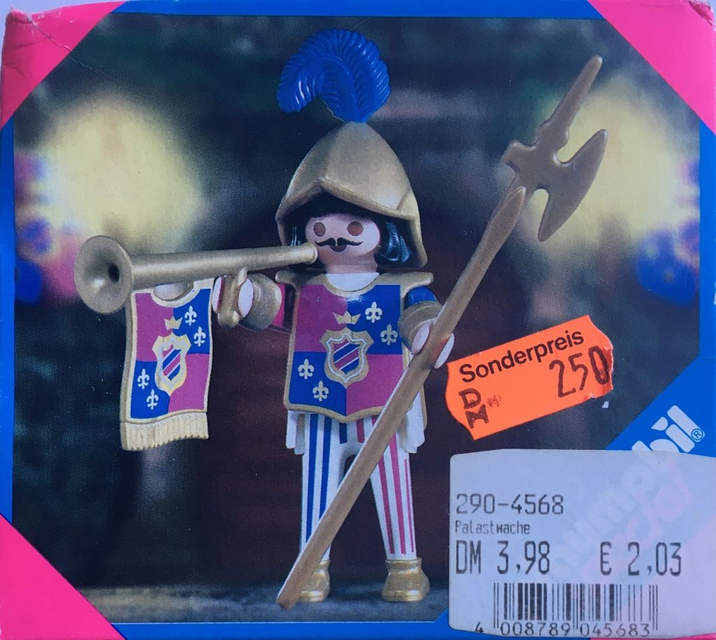 Playmobil 4568 - Royal Hornsman - Box