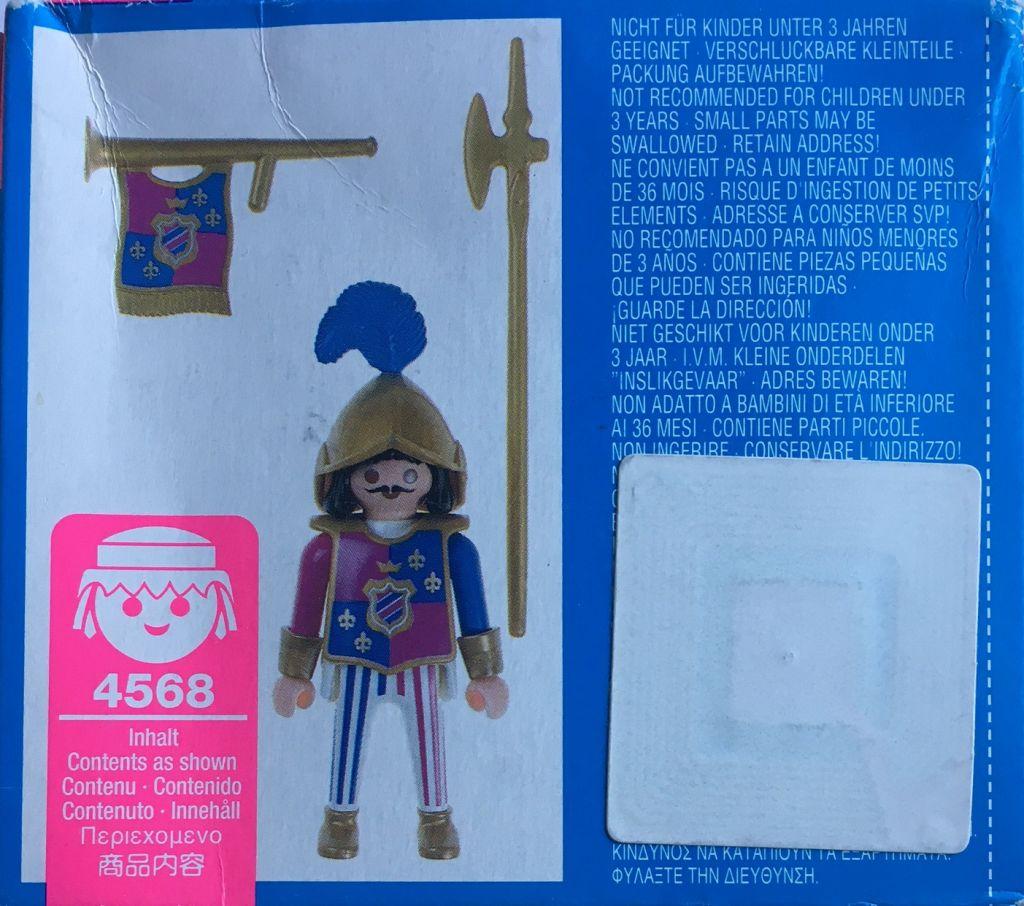 Playmobil 4568 - Royal Hornsman - Back