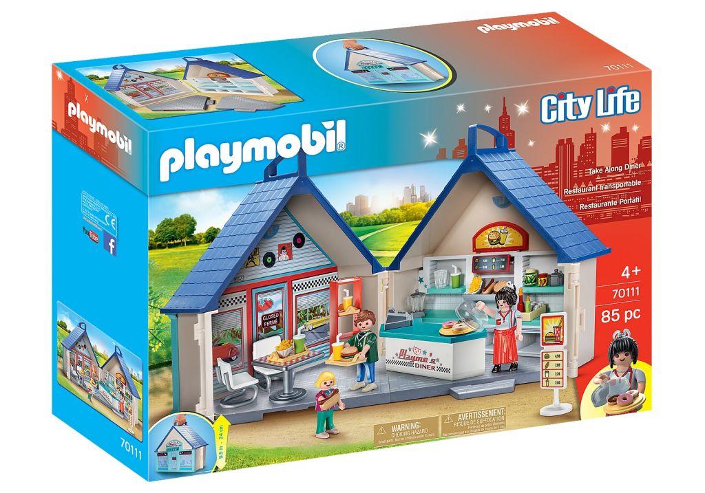 Playmobil 70111 - Take Along Diner - Box