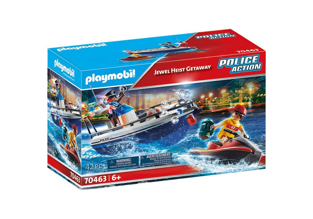 Playmobil 70463 - Jewel Heist Getaway - Box