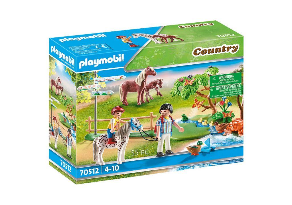Playmobil 70512 - Adventure Pony Ride - Box