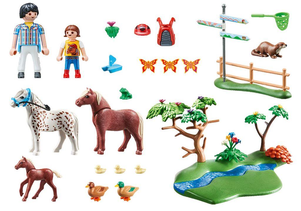 Playmobil 70512 - Adventure Pony Ride - Back