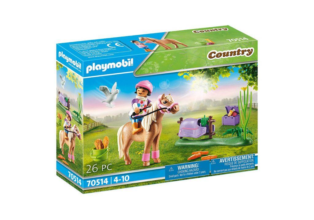 Playmobil 70514 - Collectible Icelandic Pony - Box