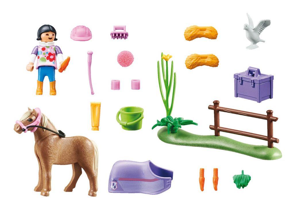 Playmobil 70514 - Collectible Icelandic Pony - Back