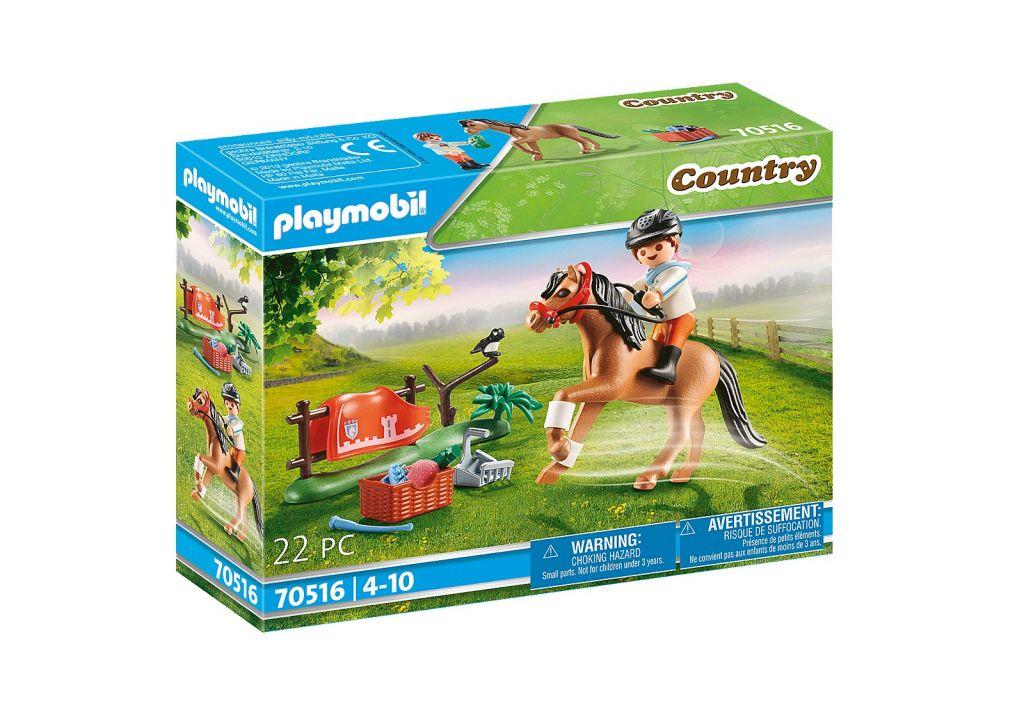Playmobil 70516 - Collectible Connemara Pony - Caja