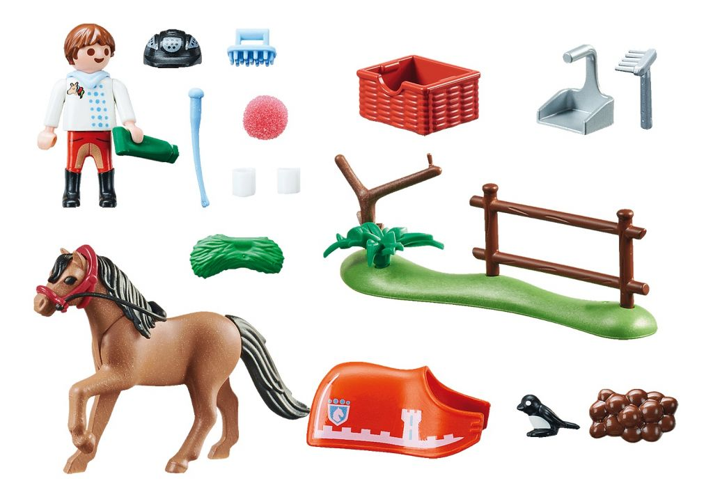 Playmobil 70516 - Collectible Connemara Pony - Back