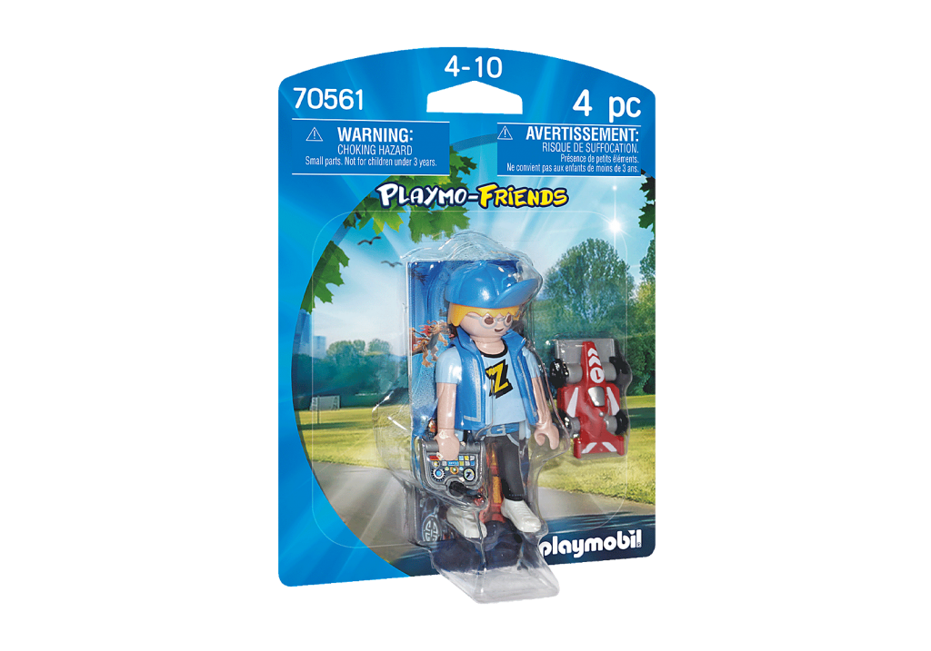 Playmobil 70561 - Boy with RC Car - Box