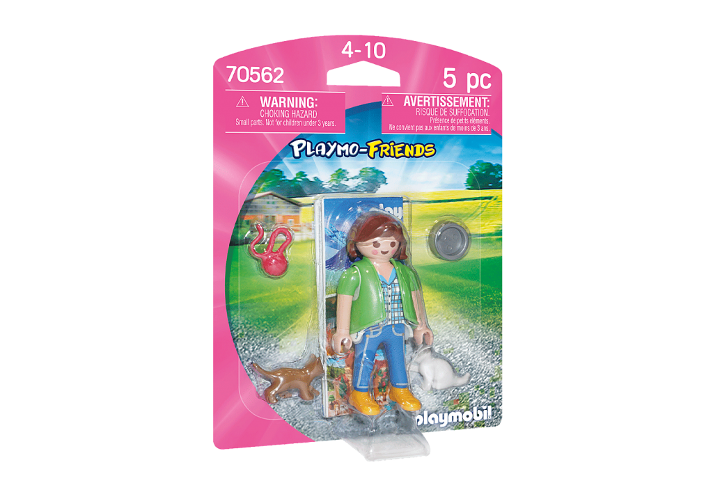 Playmobil 70562 - Girl with Kittens - Box
