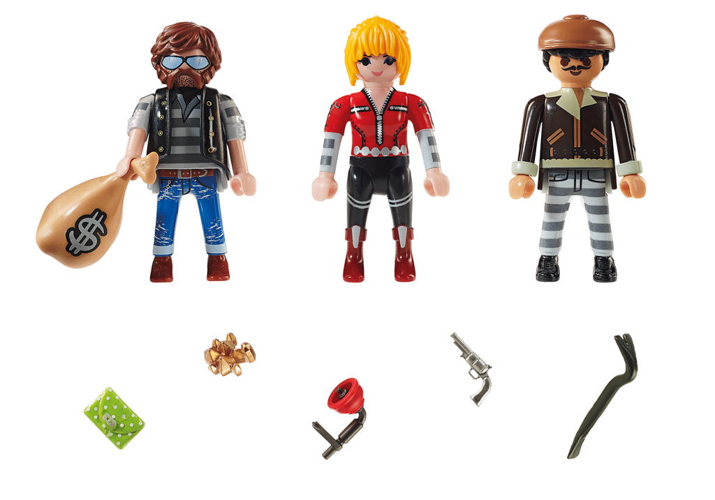 Playmobil 70670 - Thief Figure Set - Back
